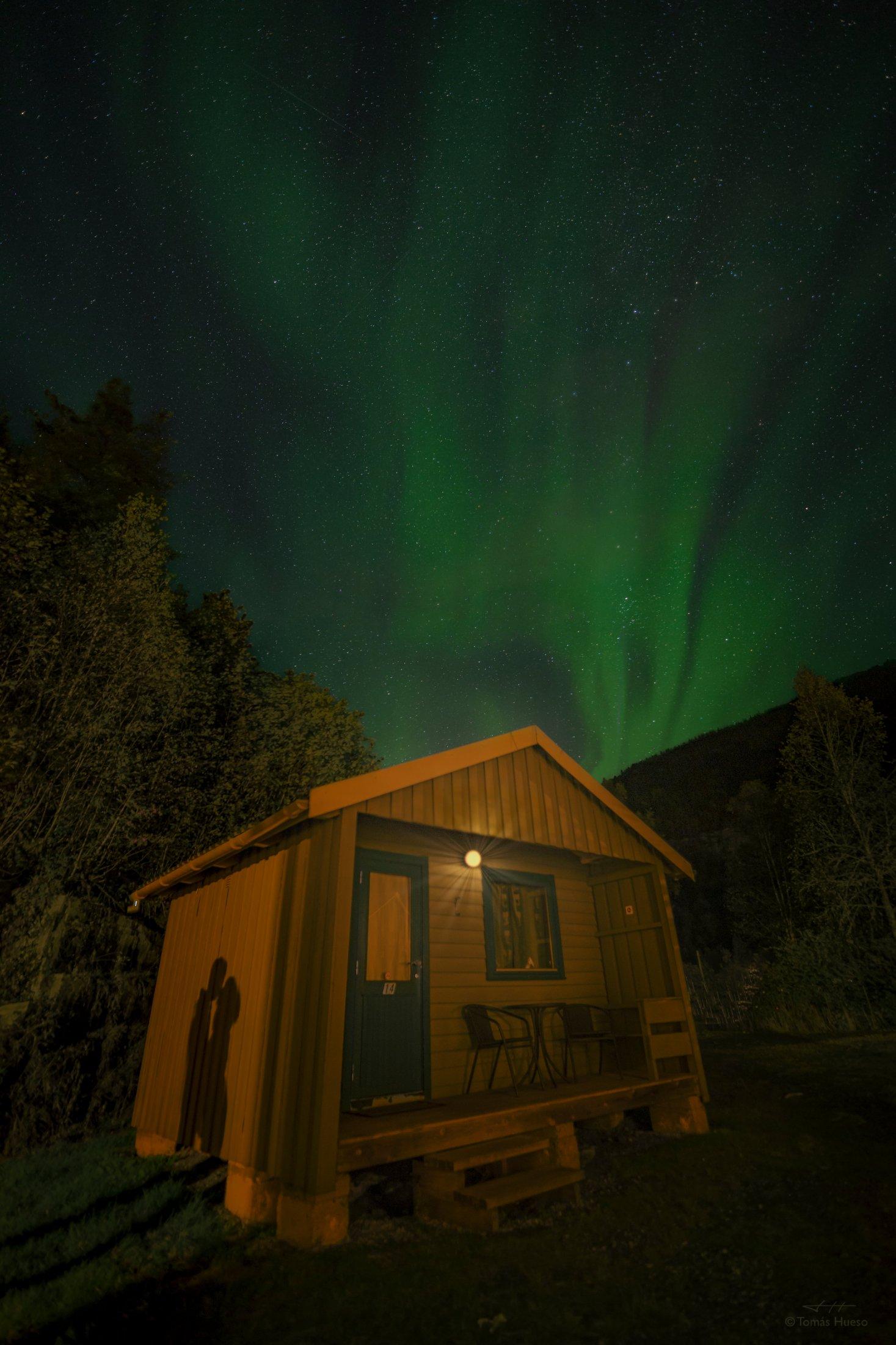 Beso Aurora Boreal Noruega